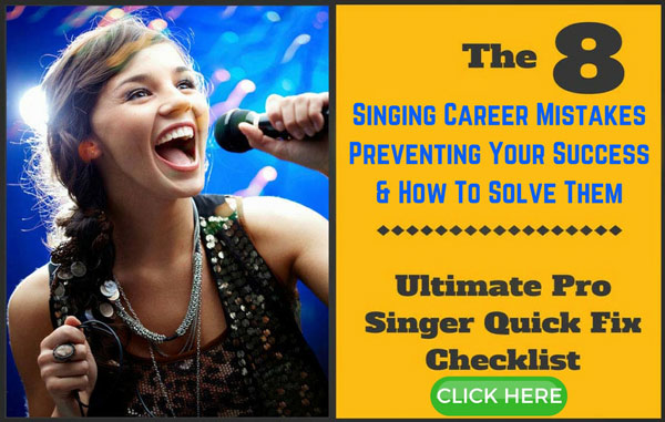 Singing career mistakes - And how to fix them