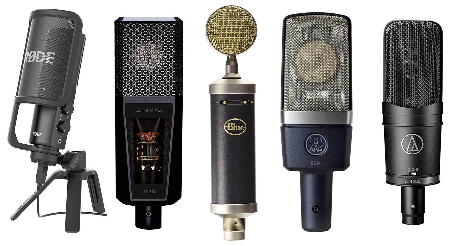 16 Best Recording Microphone For Vocals 2020 | Studio Microphone