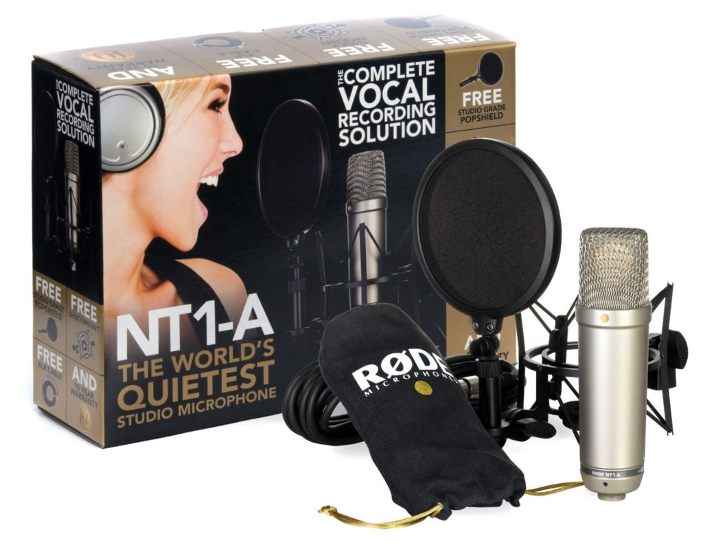 16 Best Recording Microphone For Vocals 2019 | Studio Microphone Options